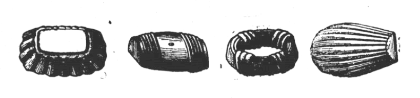 Moules à madeleine modernes